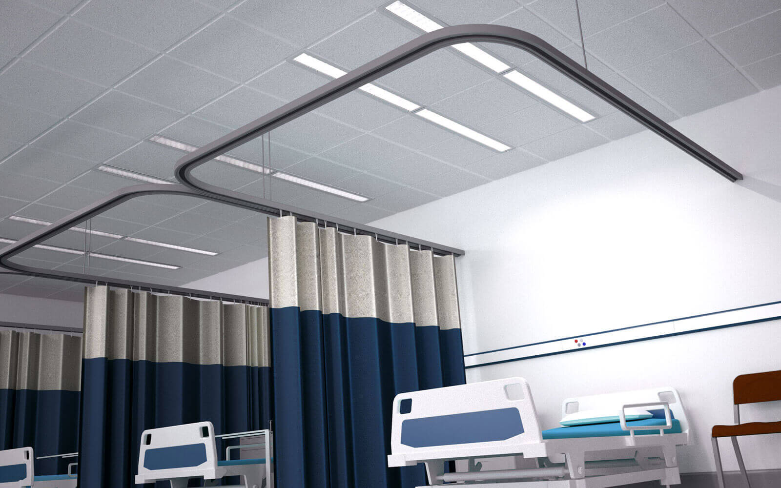 High Dependency Linear Solution - Examination Lighting