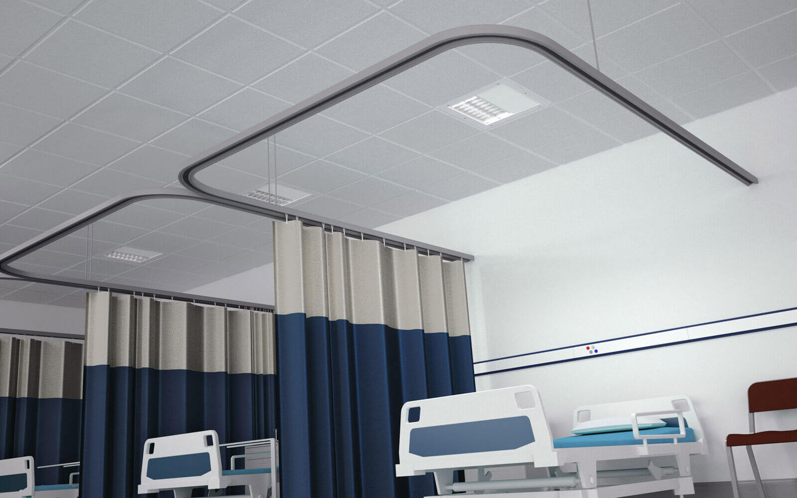 High Dependency Modular Solution - Clinical Lighting